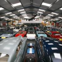 JLR buys largest private classic British cars collection