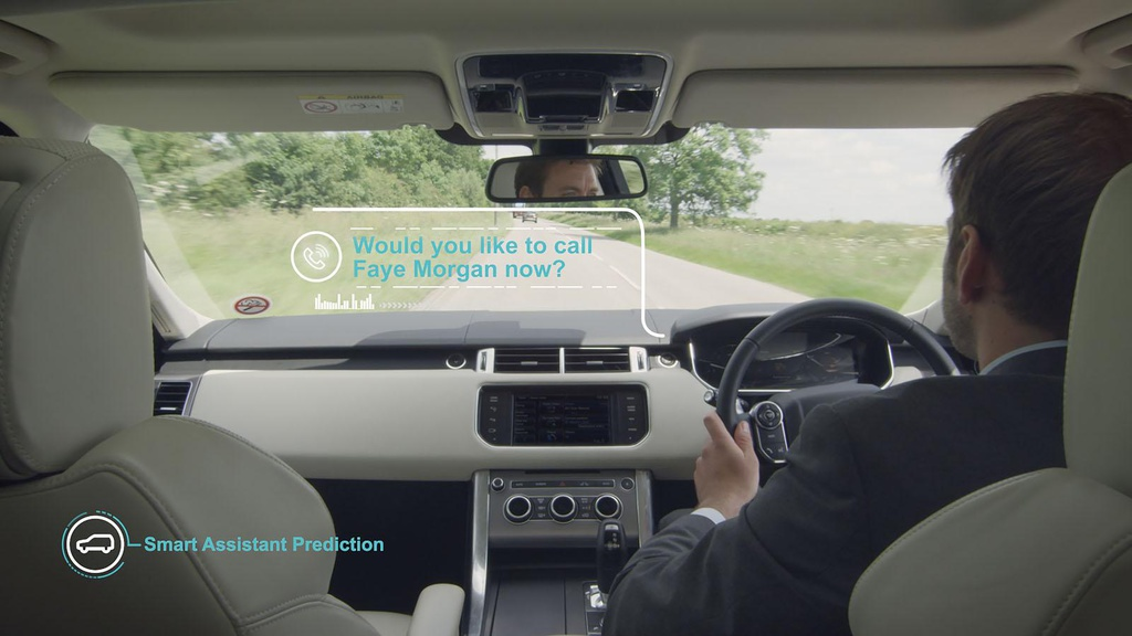 Jaguar Land Rover self-learning system