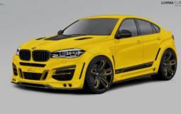 Lumma Design BMW X6 tuning package