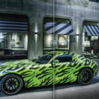 Mercedes AMG GT teased again
