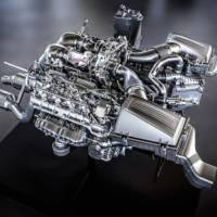 Mercedes AMG V8 engine detailed