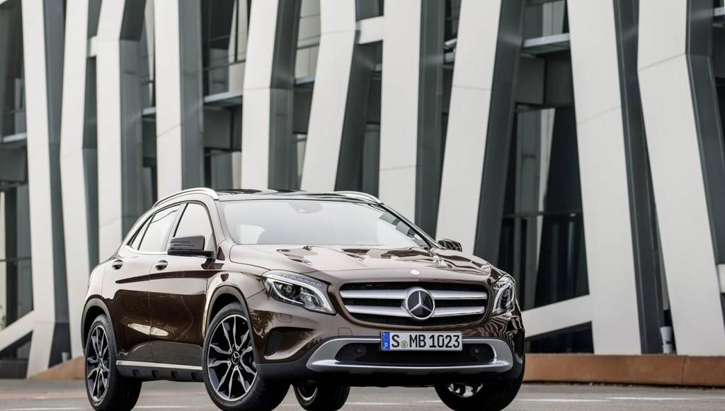 Mercedes-Benz A-Class, CLA and GLA will feature new engines and 4MATIC versions