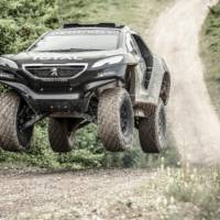 Peugeot 2008 DKR officially unveiled