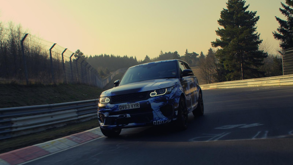 Range Rover Sport SVR is the fastest SUV on Nurburgring