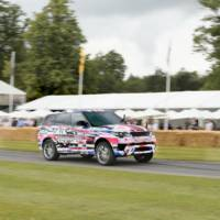 Range Rover Sport SVR runs on Goodwood Hill Climb