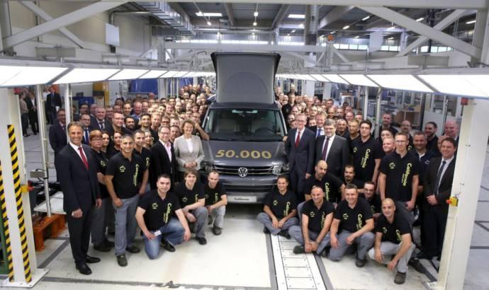 Volkswagen California Camper van reaches 50.000 units produced