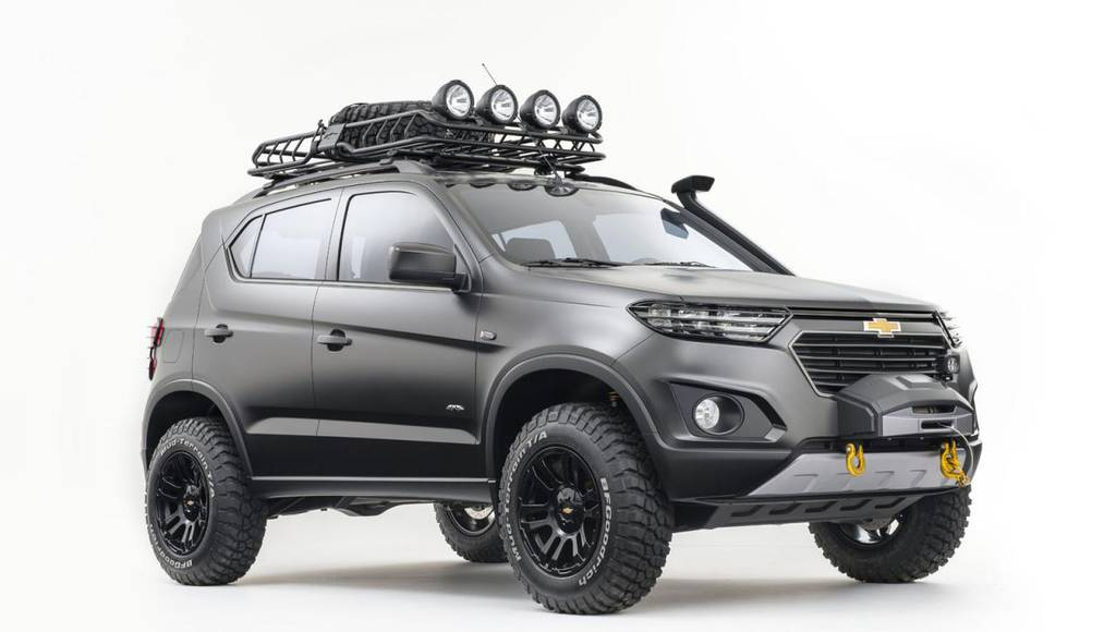 2014 Chevrolet Niva Concept - Official pictures and details