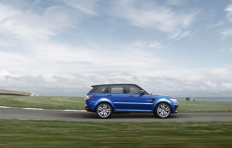2015 Range Rover Sport SVR officially introduced