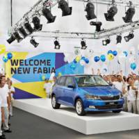 2015 Skoda Fabia enters production in Mlada Boleslav