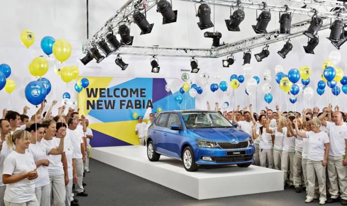 2015 Skoda Fabia enters production in Mlada Boleslav