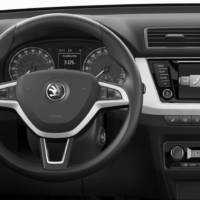 2015 Skoda Fabia - first interior photo