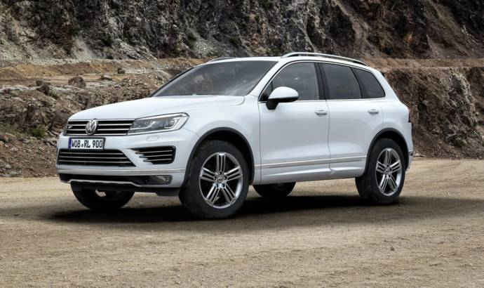 2015 Volkswagen Touareg introduced on UK market