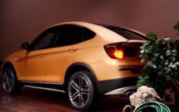 BMW Deep Orange Blue 4 Concept unveiled