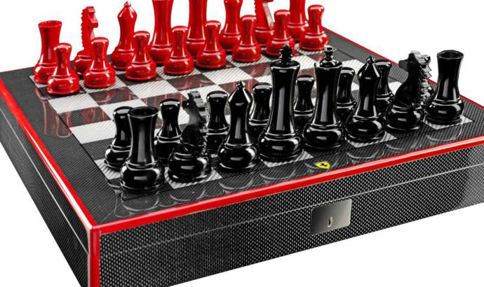 Ferrari chess set priced from 2000 USD