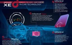 Jaguar XE InControl multimedia system detailed