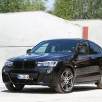 Manhart BMW X4 tuning package