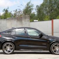 Manhart BMW X4 tuning package