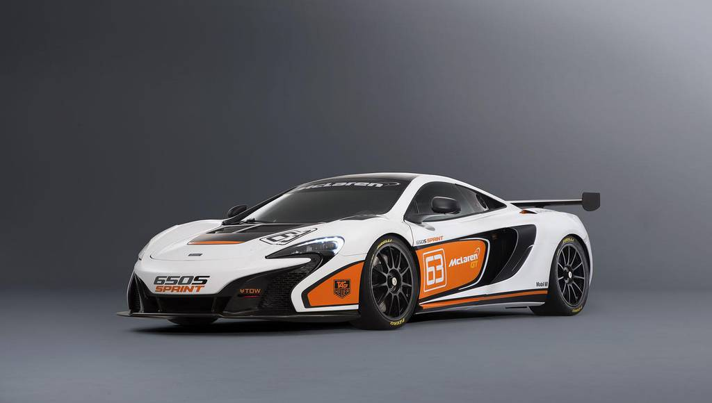 McLaren 650S Sprint is ready for the track