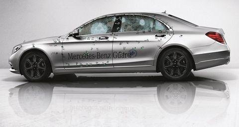 Mercedes-Benz S-Class Guard - Official pictures and details