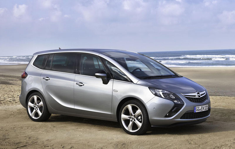 Opel Zafira Tourer EcoFlex launched in Germany