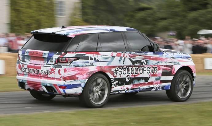 Range Rover Sport SVR teased again