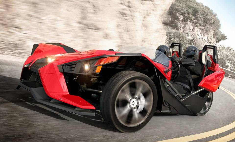 The first video review of the 2015 Polaris Slingshot