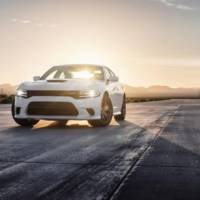 These are the first videos with the all-new Dodge Charger SRT Hellcat