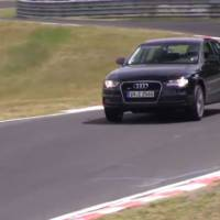 VIDEO: 2015 Audi A4 spied testing on Nurburgring