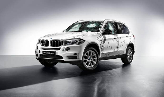 2015 BMW X5 Security Plus ready for debut