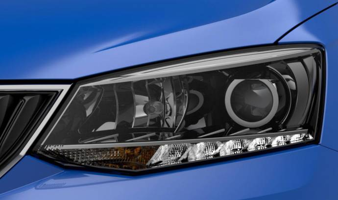 Another teaser picture with the 2015 Skoda Fabia