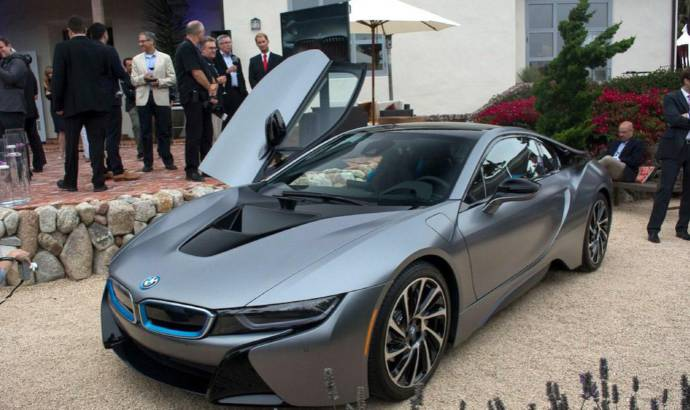 BMW i8 Concours dElegance sells for record sum