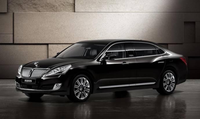 Hyundai Equus Limousine announced