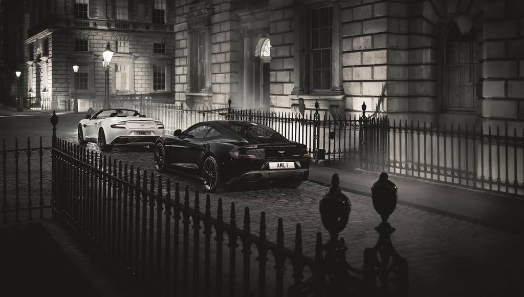2014 Aston Martin Vanquish Carbon Edition - Official pictures and details