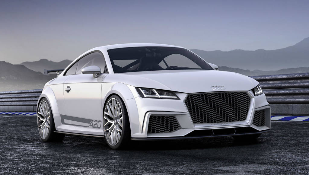 2015 Audi TT Roadster and TT-RS officially confirmed