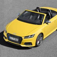 2015 Audi TT and TTS Roadster - Official pictures and details