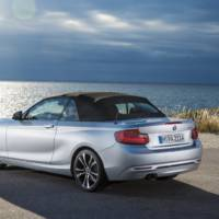 2015 BMW 2-Series Convertible revealed