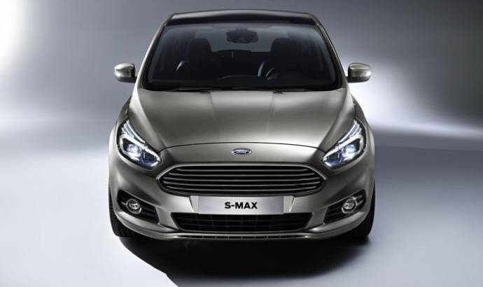 2015 Ford S-Max officially unveiled