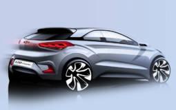 2015 Hyundai i20 Coupe teaser image