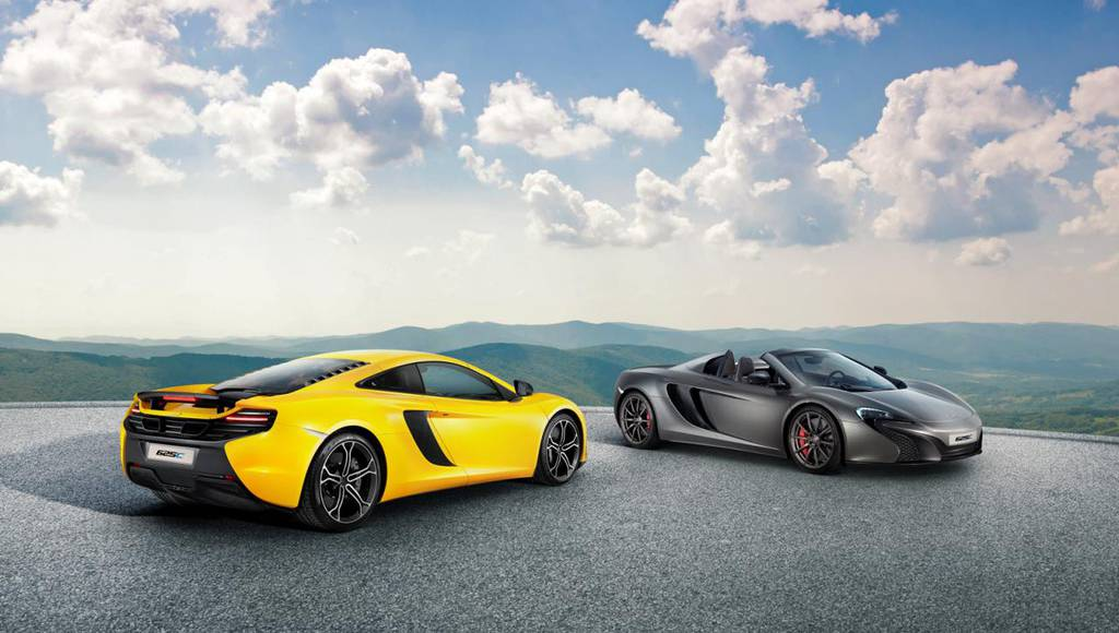 2015 McLaren 625C - Official pictures and details