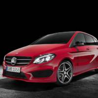 2015 Mercedes B-Class facelift unveiled ahead of Paris