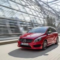 2015 Mercedes B-Class facelift unveiled ahead of Paris