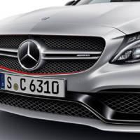 2015 Mercedes-Benz C63 AMG - Official details