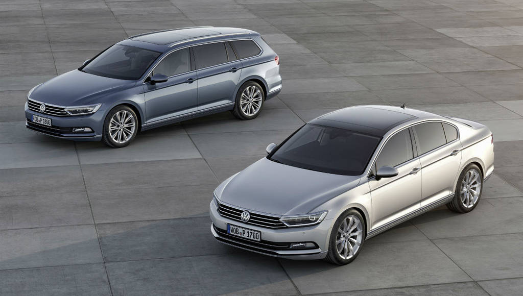 2015 Volkswagen Passat starts at 22.215 GBP in the UK