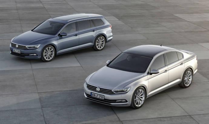 2015 Volkswagen Passat starts at 22.215 GBP in the UK