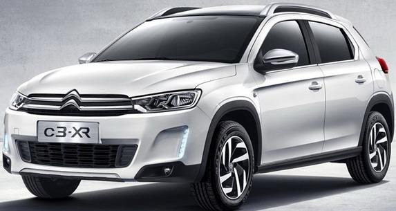 Citroen C3-XR - First official pictures