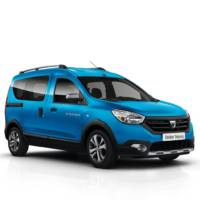 Dacia Lodgy Stepway and Dokker Stepway unveiled ahead of Paris