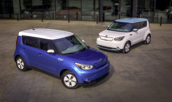 Kia Soul EV starts at 33.700 USD
