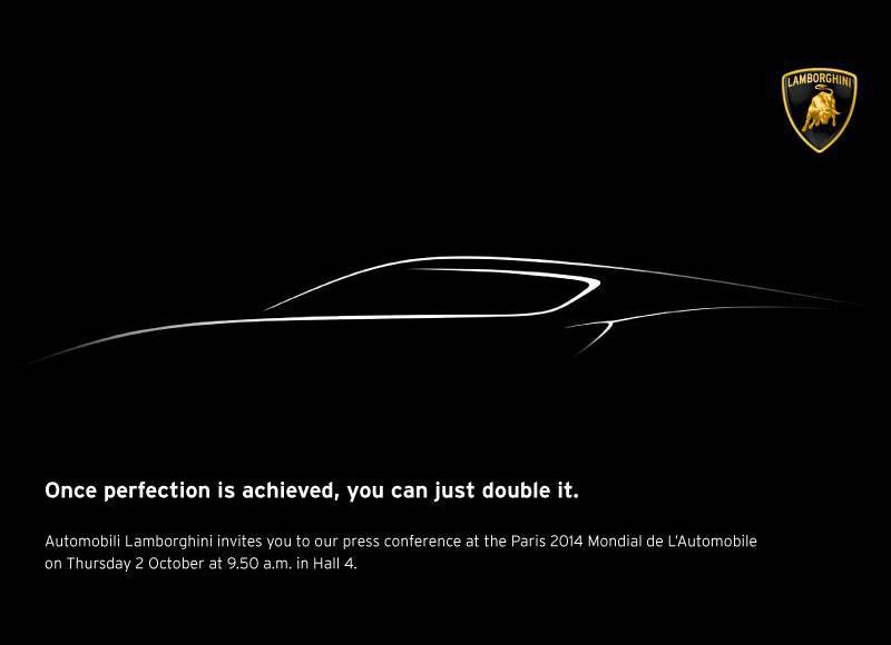Lamborghini Concept to be unveiled in 2014 Paris Motors Show