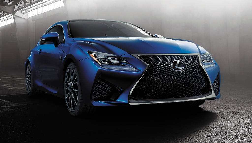 Lexus RC F Coupe compared to the BMW M4