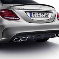 Mercedes C63 AMG S Edition 1 unveiled